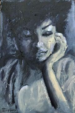 Memories, Painting, Oil on Wood Panel