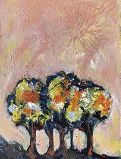 Oasis, Painting, Acrylic on MDF Panel