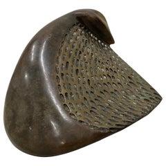 "Sharon Spencer, ""At Rest"" Original Bronze Sculpture, circa 1995"