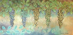 The Colors Of Grapes, Painting, Acrylic on Canvas