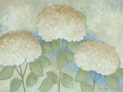 The Secret Life Of Hydrangeas #9, Painting, Acrylic on Canvas