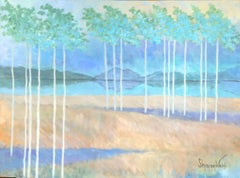 The Secret Life of Trees #24, Painting, Acrylic on Canvas