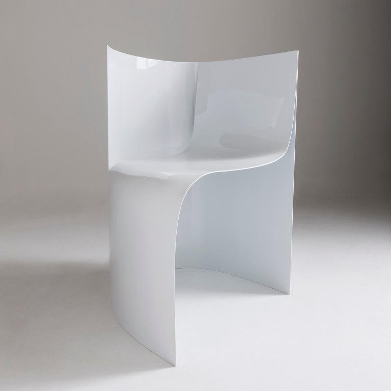 The aluminium armchair