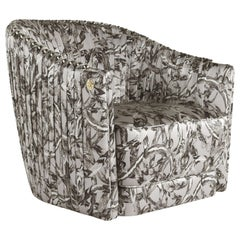 Sharpei Armchair in Fabric by Roberto Cavalli Home Interiors