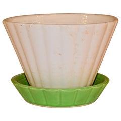 Shawnee Pottery Duo-Tone Flower Pot