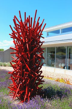 Tangled Column - Red