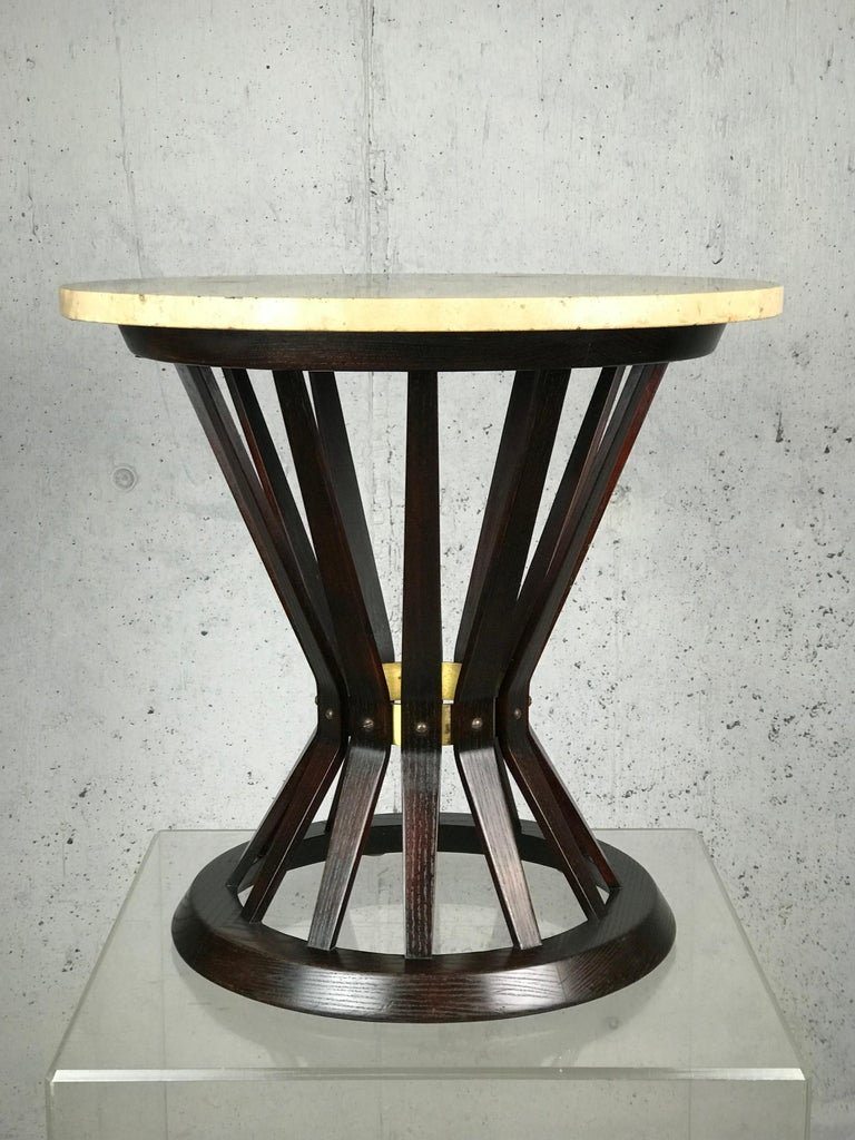Sheaf of Wheat Side Table by Edward Wormley for Dunbar In Fair Condition For Sale In St.Petersburg, FL