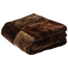 Bespoke Sheared Beaver, Pashmina Blanket
