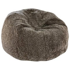Shearling Sheepskin Bean Bag Chair, Made in Australia