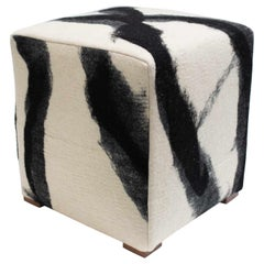 Sheep Cube in Black & White by JG Switzer