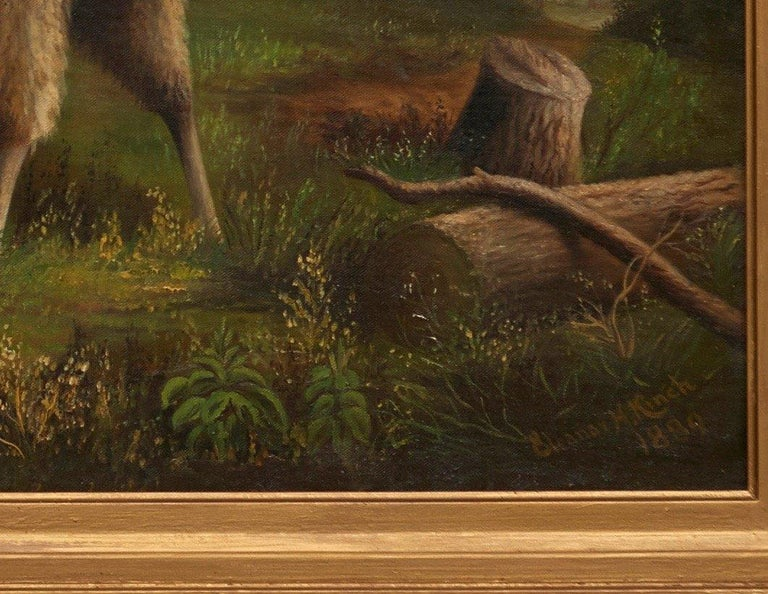 Painted Sheep in a Landscape For Sale