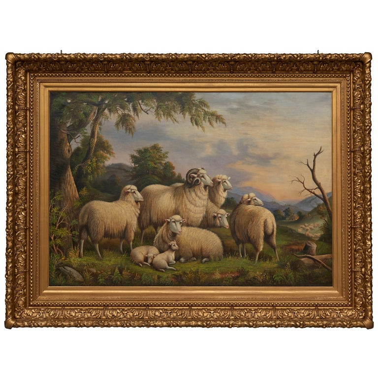 Sheep in a Landscape For Sale