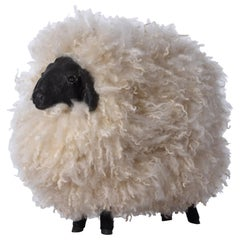 Sheep Sculpture Ottoman