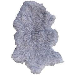 Sheep Skin Rug Tibetan Mongolian Long Hair Curley Hide