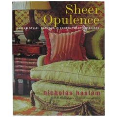Sheer Opulence Hardcover Decoration Book by Nicholas Haslam