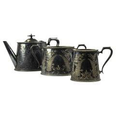 Sheffeld Tea Set, Half of the 20th Century
