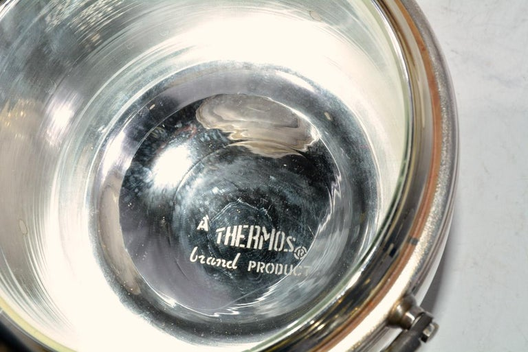 20th Century Sheffield Silver Plate Lidded Ice Bucket, USA For Sale