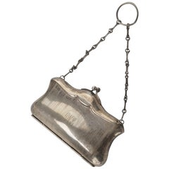 Sheffield Silver Purse, English Manufacture, Early 1900