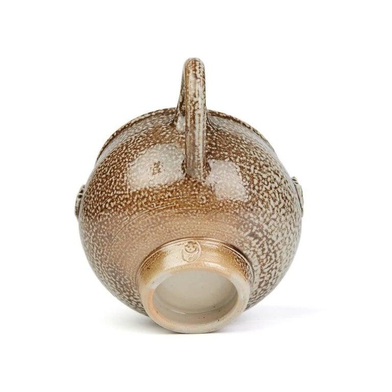 Sheila Casson Studio Pottery Brown Salt Glazed Jug, 20th Century For Sale 2