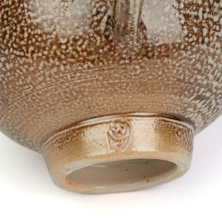 Sheila Casson Studio Pottery Brown Salt Glazed Jug, 20th Century For Sale 3