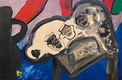 Oil Painting Photo Collage Assemblage Feminist Pop Art Miami Artist Sheila Elias