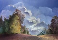Ma vallée, French landscape, romantic style