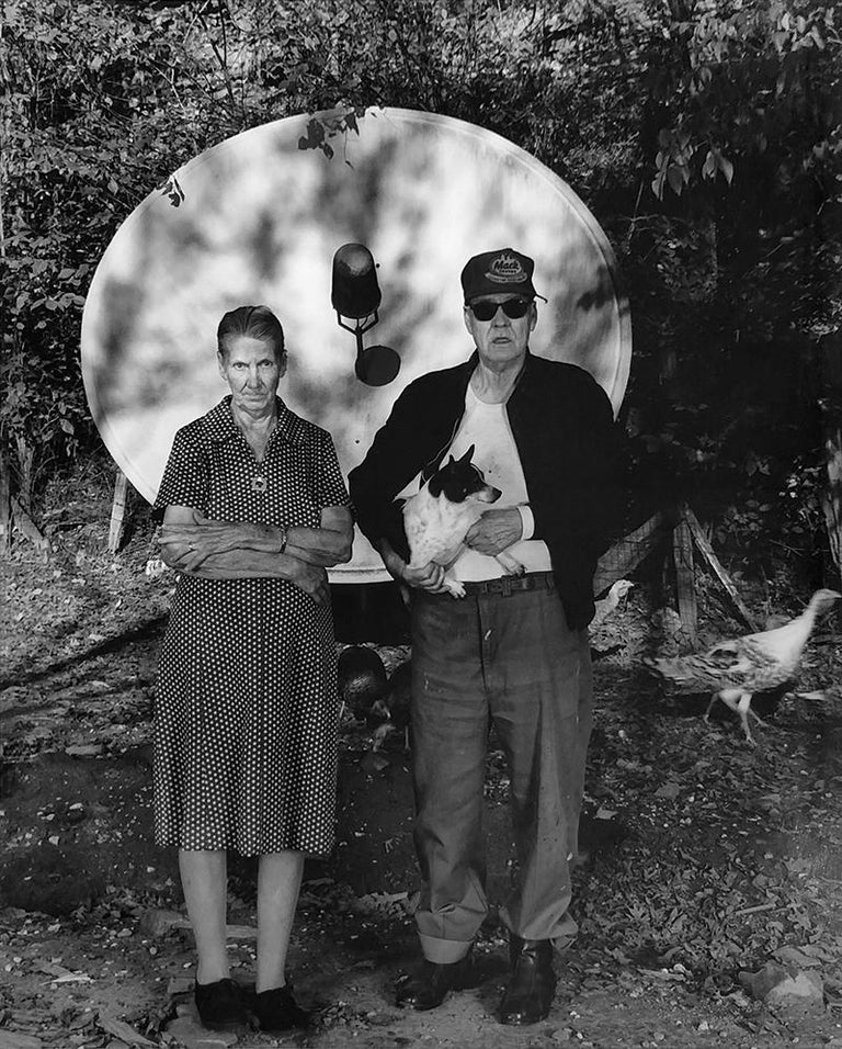 Shelby Lee Adams Black and White Photograph - Peggy & Albert Campbell