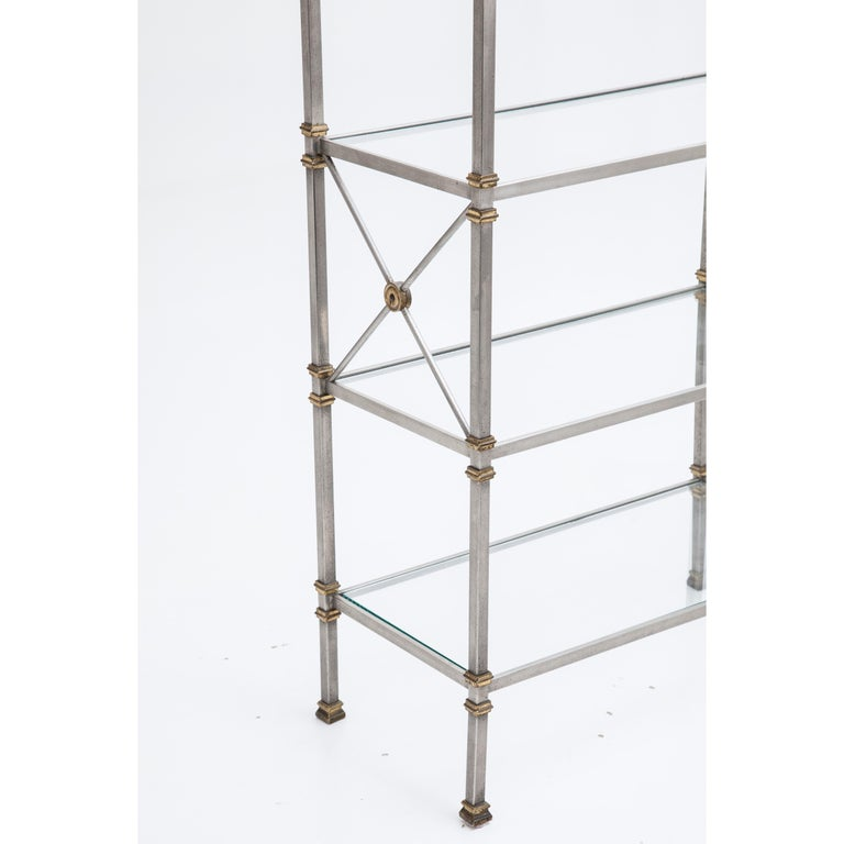 Mid-Century Modern Shelf in the Style of Maison Jansen, France, 20th Century For Sale