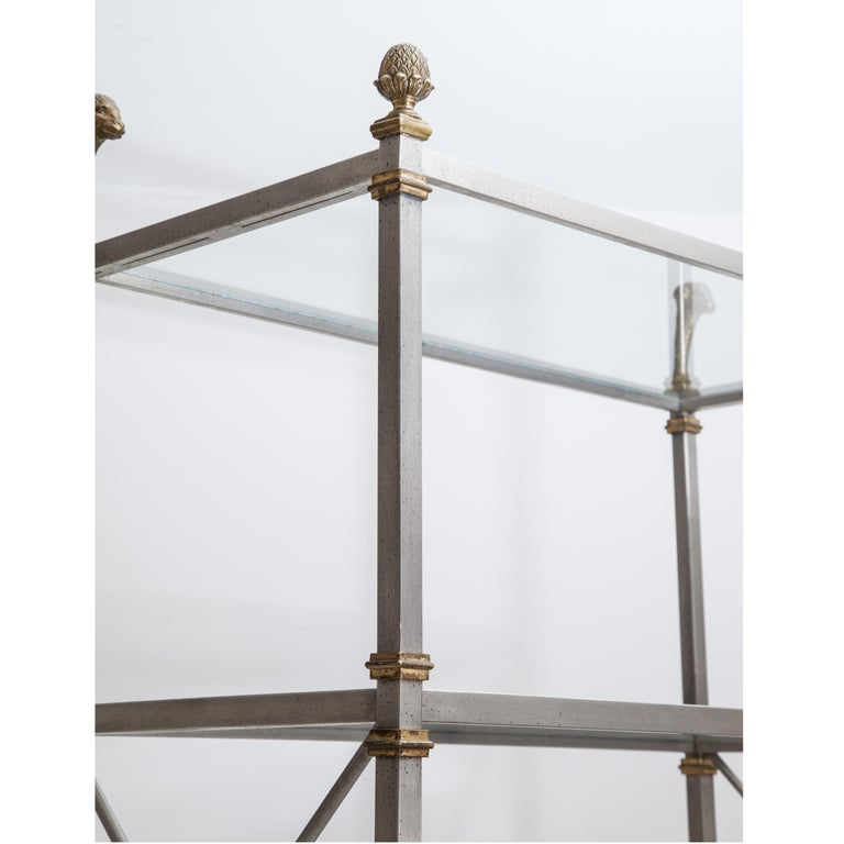 Shelf in the Style of Maison Jansen, France, 20th Century In Good Condition For Sale In Greding, DE