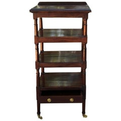 Shelf, Lectern, 19th Century English Mahogany