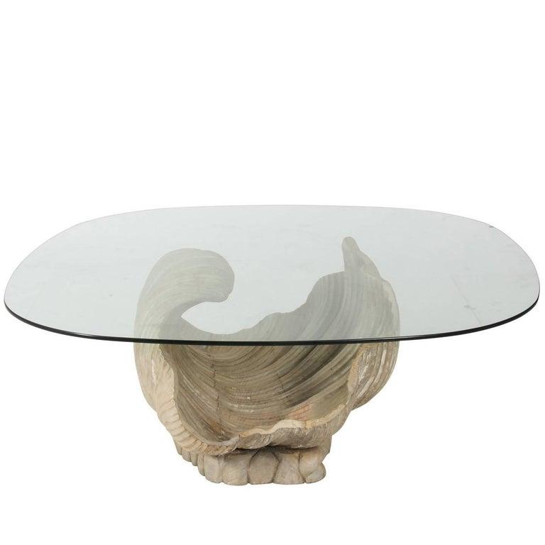 Shell Base Coffee Table
