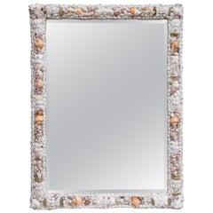Shell Encrusted Wall Mirror
