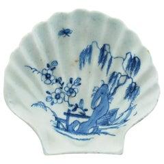 Shell 'Pecten' Dish, Bow Porcelain Factory, circa 1747