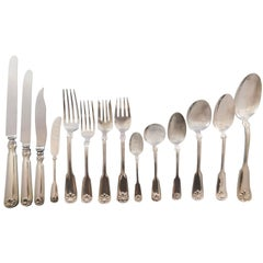 Shell & Thread by Tiffany Co Sterling Silver Flatware Service Set 178 Pc Dinner