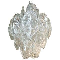 Shells Chandelier by Mazzega