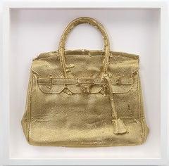 Homemade Hermes Birkin Bag (Gold), 2015, by Shelter Serra