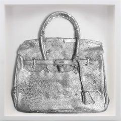 Homemade Hermes Birkin Bag, Sliver, Edition of 15, by Shelter Serra