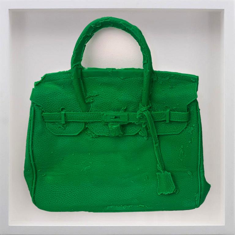 Homemade Hermes Birkin Bag ( Kelly Green ) 2015 by Shelter Serra