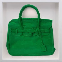 Homemade Hermes Birkin Bag ( Kelly Green ) 2015 by Shelter Serra