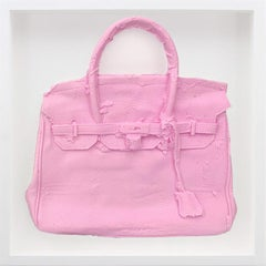Homemade Hermes Birkin Bag ( Pink ) 2015 by Shelter Serra