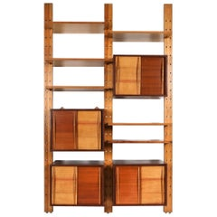 Shelve System France 1970s Inspired by Perriand, Le Corbusier