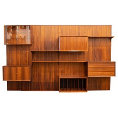 Shelving System Wall Unit by Poul Cadovius
