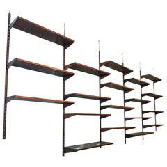 Shelving Unit Designed by Kai Kristiansen for Fm Møbler, 1960s