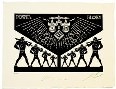 SHEPARD FAIREY AND CLEON PETERSON SCALES OF INJUSTICE