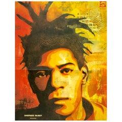 Shepard Fairey Basquiat Poster