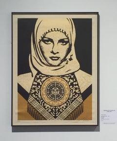 Arab Woman (gold)