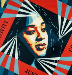 Creativity, Equity, Justice - Shepard Fairey Obey Activism Contemporary Print
