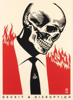 Deceit & Disruption - Screen Prints by Obey Giant (Shepard Fairey) - 2017