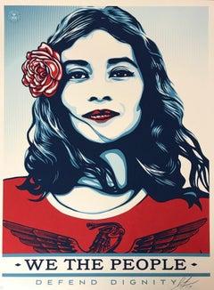 """Defend Dignity"" Shepard Fairey Contemporary & Urban Art 2017 Artist Proof 2017"