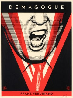 Demagogue - Screen Prints by Obey Giant (Shepard Fairey) - 2016